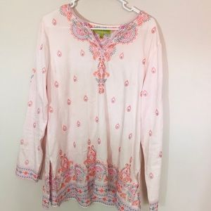 Sigrid Olsen Cotton Tunic